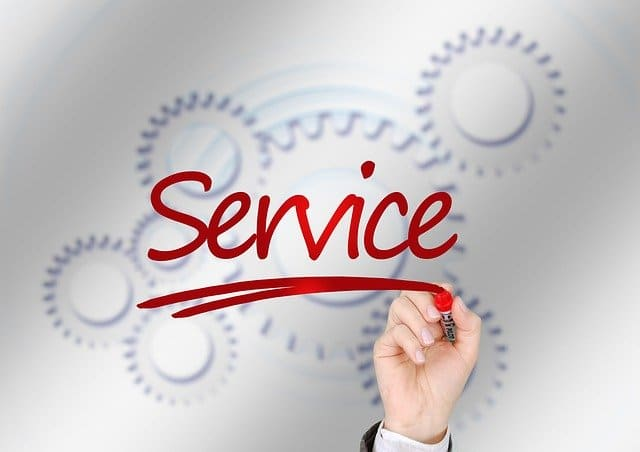 Service e-reputation